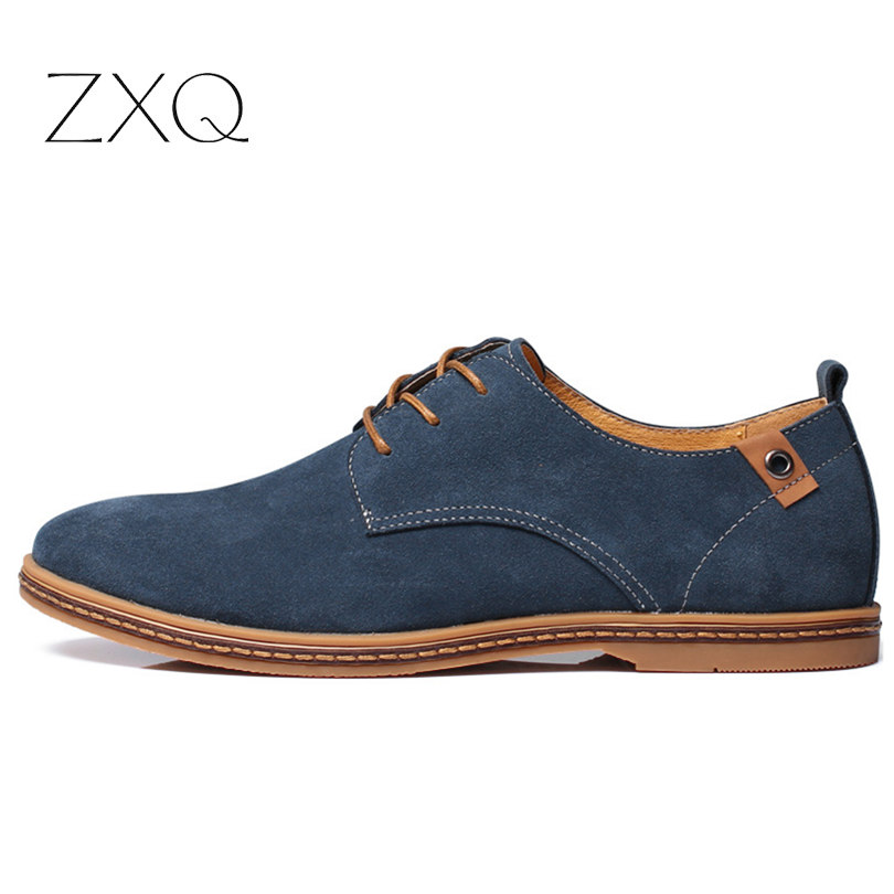 2017 fashion men casual shoes new spring men flats lace up ...