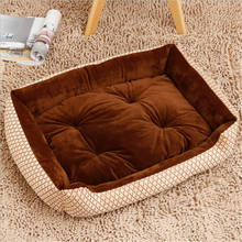 Naturelife Pet Dog Bed Soft Material Fall and Winter Warm Nest Kennel For Cat Warming House Puppy Plus size