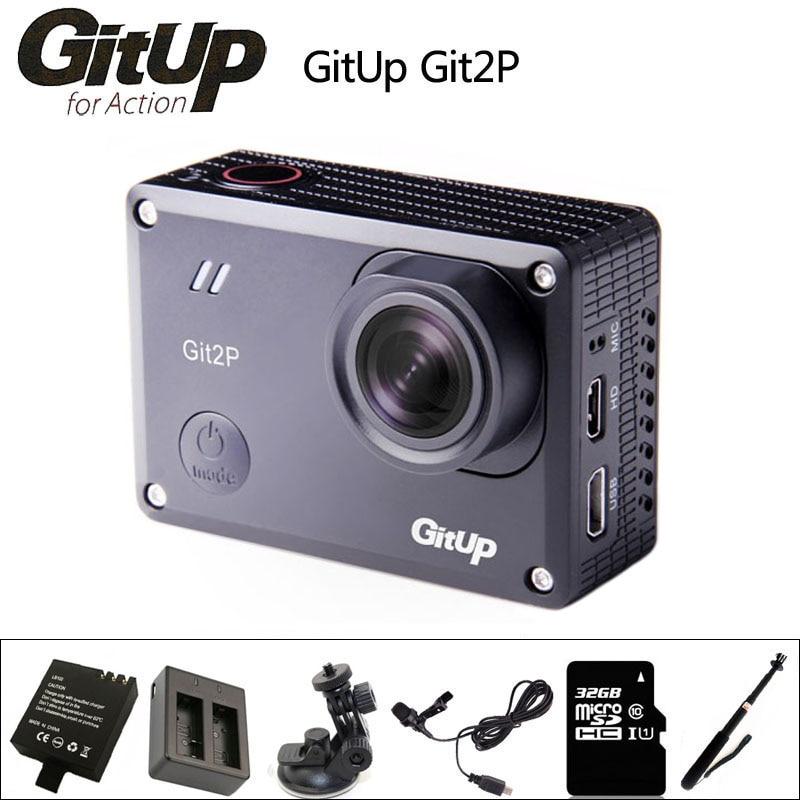 Gitup Git2P Action Camera 2K Sports DV WiFi Full HD 1.5 inch Novatek 96660 Cam 1080P 170 degree Waterproof Camcorder git2 p original gitup git2p sports action camera 2k wifi full hd 1080p 30m waterproof camcorder 1 5 inch novatek 96660 git2 p pro cam