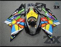 Moto Blanc + Noir ABS Injection Carrosserie Carénage Pour Ducati 1098 848 1198 2007 2008 2009 suk1098