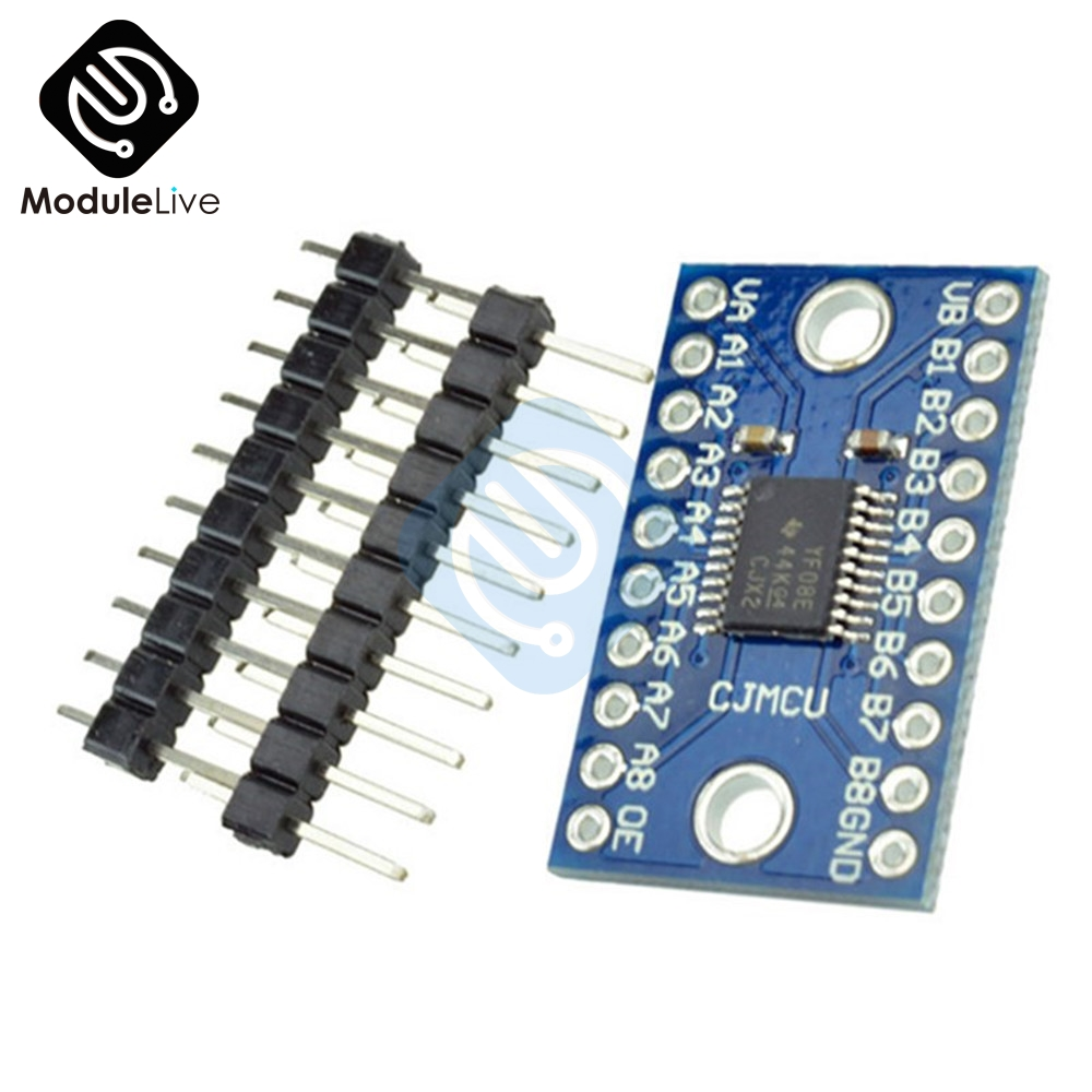 Pin Header for Arduino 8-CH Bi-Directional Logic Level Module Converter