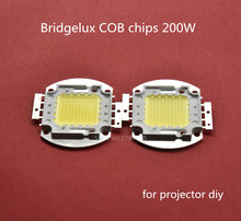 200W high lumen diy projector led COB LED Lamp Bulb for DIY led projector bridgelux 68mil chip 6000-6500K pure white/snow white