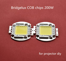 200W high lumen diy projector led COB LED Lamp Bulb for DIY led projector bridgelux 68mil chip 6000-6500K pure white/snow white(China)