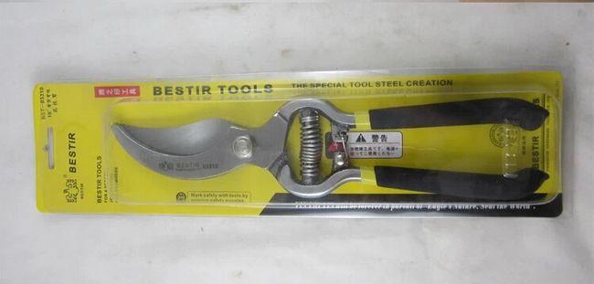 """BESTIR 1"""" Машинка для стрижки цветов, инструмент из нержавеющей стали, инструмент для рукоять с резиновым покрытием, мощная резка, инструменты для ножей, № 03310"""