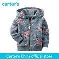 Картера 1 шт. детские дети дети Французский Терри Кардиган 118G720, продавец картера Китай официальный магазин