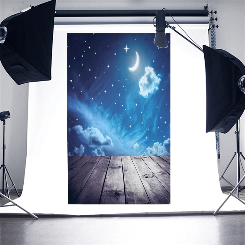 90X150cm/35.4*59inch Vinyl Night Moon Star Cloud Photo Background Photography Backdrops Backgrounds Studio Video Waterproof 75mmx30mm dc 12v 0 24a 2 pin computer pc sleeve bearing blower cooling fan 7530 r179t drop shipping