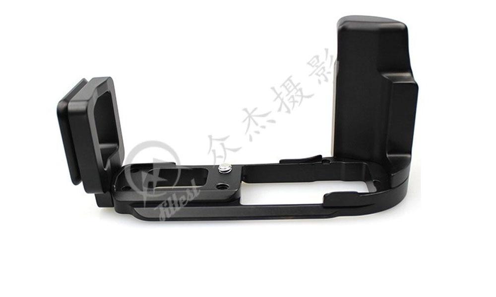 FITTEST FLO-OMD/EM10 Arca Swiss Standard Quick Release L Plate Bracket Holder Hand Grip for Olympus OM-D E-M10 OMD EM10 RRS