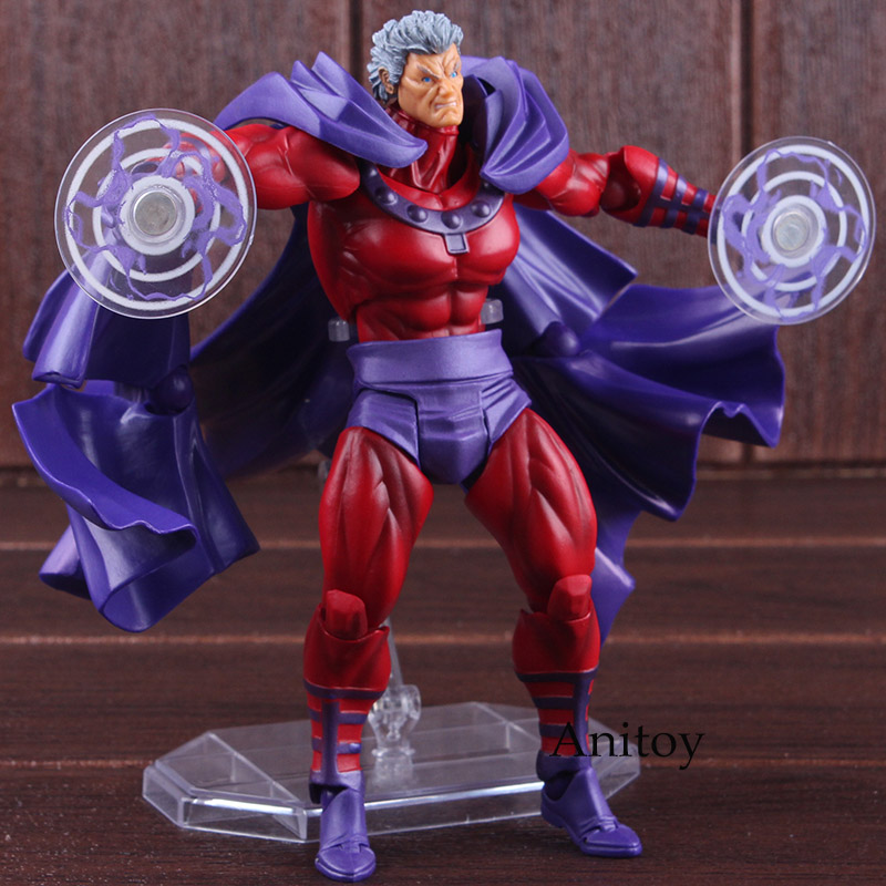 Image 2 - Marvel Comics X Men Avengers Magneto Figma Series NO.006 PVC XMen  Amazing Yamaguchi Figure Collectible Model ToyAction & Toy Figures   -