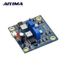 AIYIMA HIFI נמוך רעש יחיד מתח כדי הכפול 12V כוח פלט מוסדר אספקת חשמל עבור קדם מגבר אוזניות מגבר מפענח