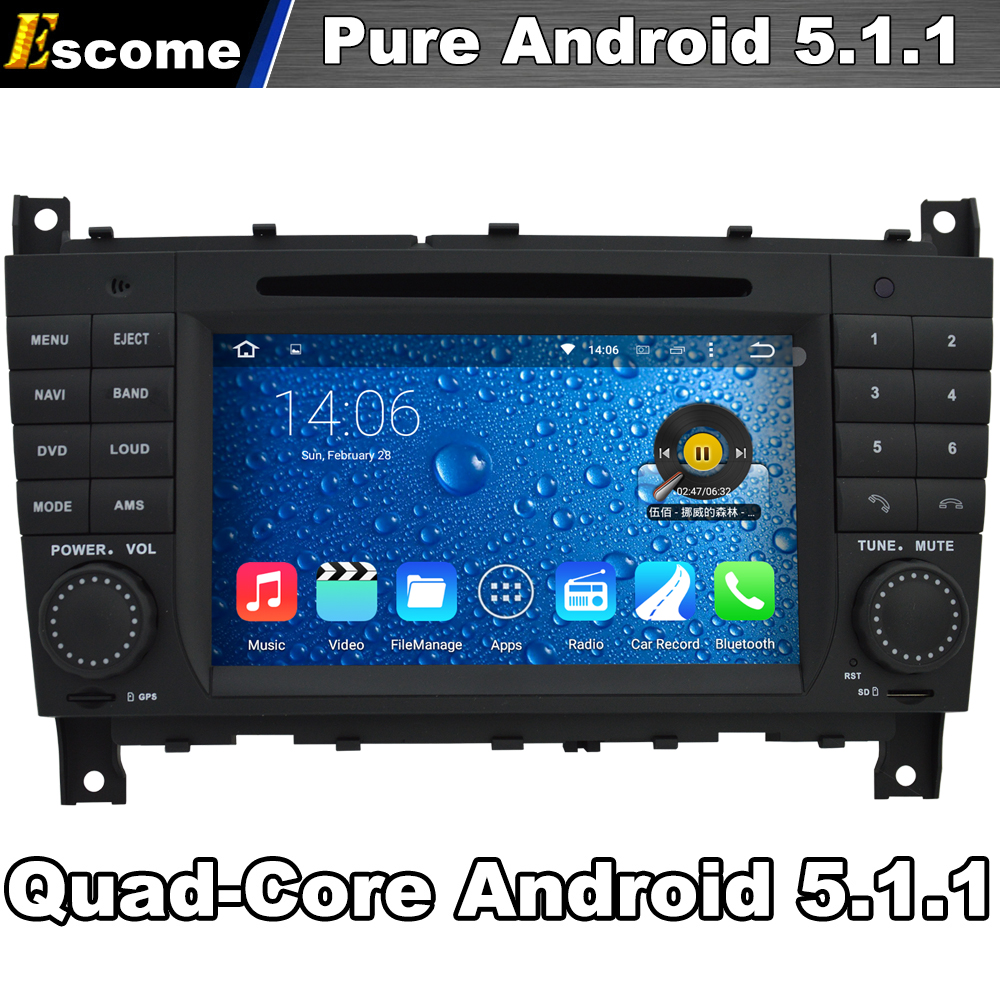 4 cores quad core pure android 5 1 car dvd player for. Black Bedroom Furniture Sets. Home Design Ideas