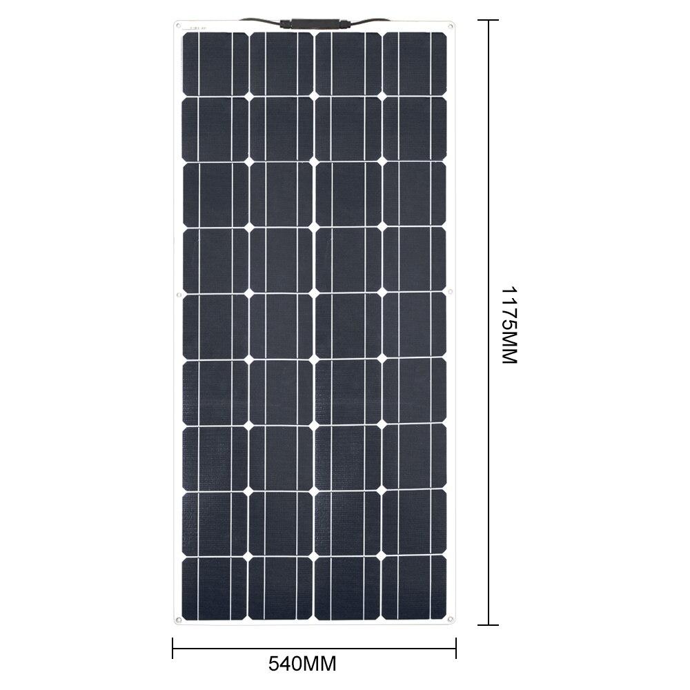 100W ETFE Flexible solar panel 4