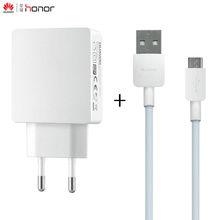 Original Huawei 5V 2A EU Adapter Travel Wall Fast Charger With Micro USB Cable for Samsung Xiaomi HTC Sony LG Huawei P9 P8 P6 v8