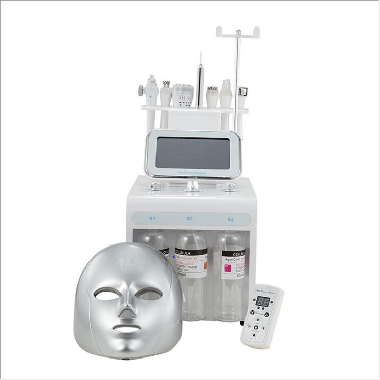 H2O2 High Quality Oxygen Facial Machine Aqua Peeling Hydro Microdermabrasion Facial Machine