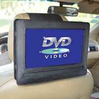 Otomobiller ve Motosikletler'ten GPS Standı'de Için araba Kafalık Dağı 9 Inç Döner Flip Tarzı taşınabilir dvd oynatıcı Tutucu