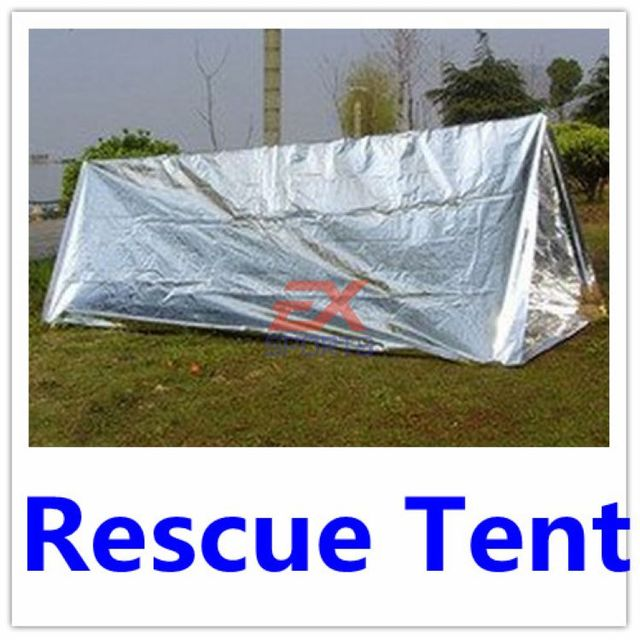 1X Emergency Survival Tent C&ing Hiking Doomsday Prep Survival Tools Thermal Tent Shelter High Quality Retail  sc 1 st  AliExpress.com & 1X Emergency Survival Tent Camping Hiking Doomsday Prep Survival ...