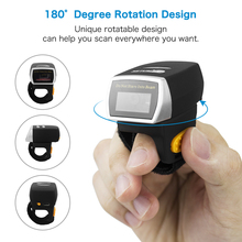 NETUM R2 Bluetooth Ring 2D Barcode Scanner AND R3 Wearable CCD Barcode Scanner Imager Screen for POS Android iOS iMac Ipad 1250g brand new original linear imager barcode scanner