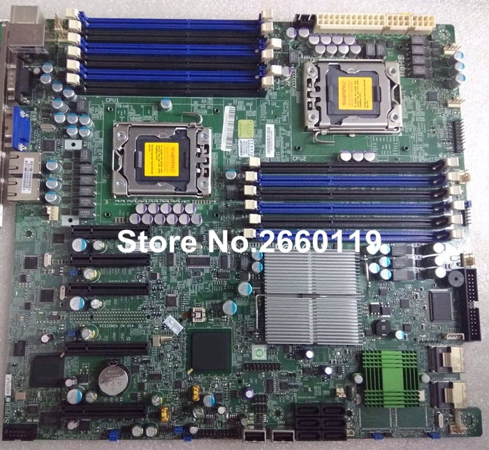 Server motherboard for X8DT6-F system mainboard, fully tested