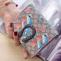 Fashion Leather Women Wallets Beautiful Magpie Short Hasp Wallet Card Holder Coin Purse Hot
