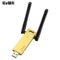 KuWfi 2 4G 5G Dual Band Mini USB Wifi Adapter 802 11ac 1200Mbps Wireless Home Network