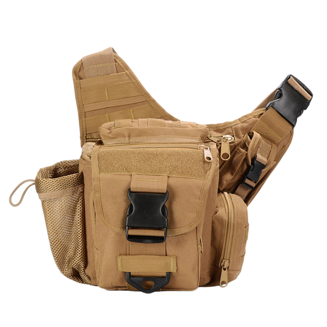 Free shipping Military Drop Sling Bag Multifunction Panel Utility Waist Belt Pouch Bag