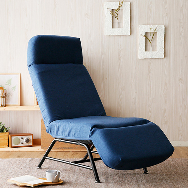 Adjustable Chaise Lounge Chair Recliner Modern Living Room Furniture  Reclining Lounger Multi Position Leisure Sofa