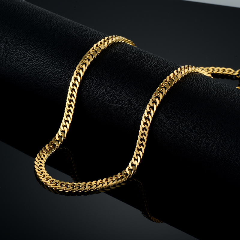 Vintage Long Gold Chain for Men Chain մանյակ