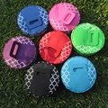 """Wholesale Blanks New Size 13""""x13""""x3.5"""" 100%  Quatrefoil Round Insulted Food Carrier Bags Casserole Carriers Lunch Box DOM103110"""