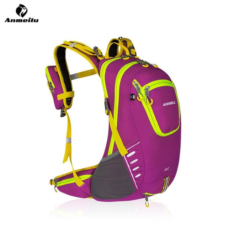 Sacs de vélo 3 Couleur Anmeilu 20L Ultra Léger sports de plein air vélo sac à dos sacs à dos unisexe Camping Escalade Avec Housse De Pluie dans Sacs de vélos et sacoches de Sports et loisirs