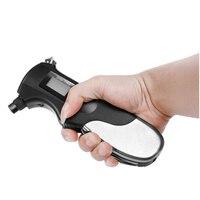 Flashlight Tire Gauge Emergency Tool Digital LCD Car Tyre Tire Pressure Gauge Meter Hammer For Car