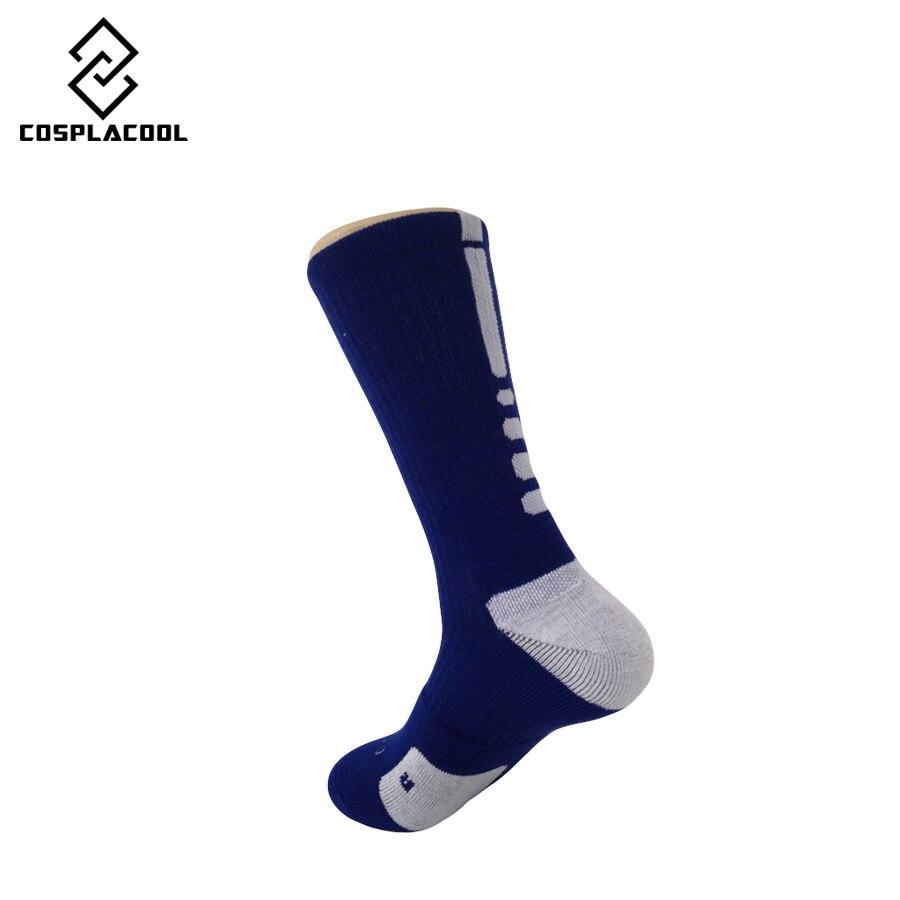 [Cosplacool] новая мода профессиональная элита бренд носок хорошее качество сгущает полотенце мужские носки