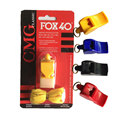 Plastic FOX 40 Soccer Football Basketball Hockey Sports Classic Referee Whistle Survival Outdoor plastic butterfly fox nuclear