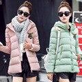 O Novo Casaco de Inverno de Moda Feminina Um Código Versão Blusa de Algodão Mulheres Jaqueta de Inverno Para Baixo Casaco Jaqueta Curta