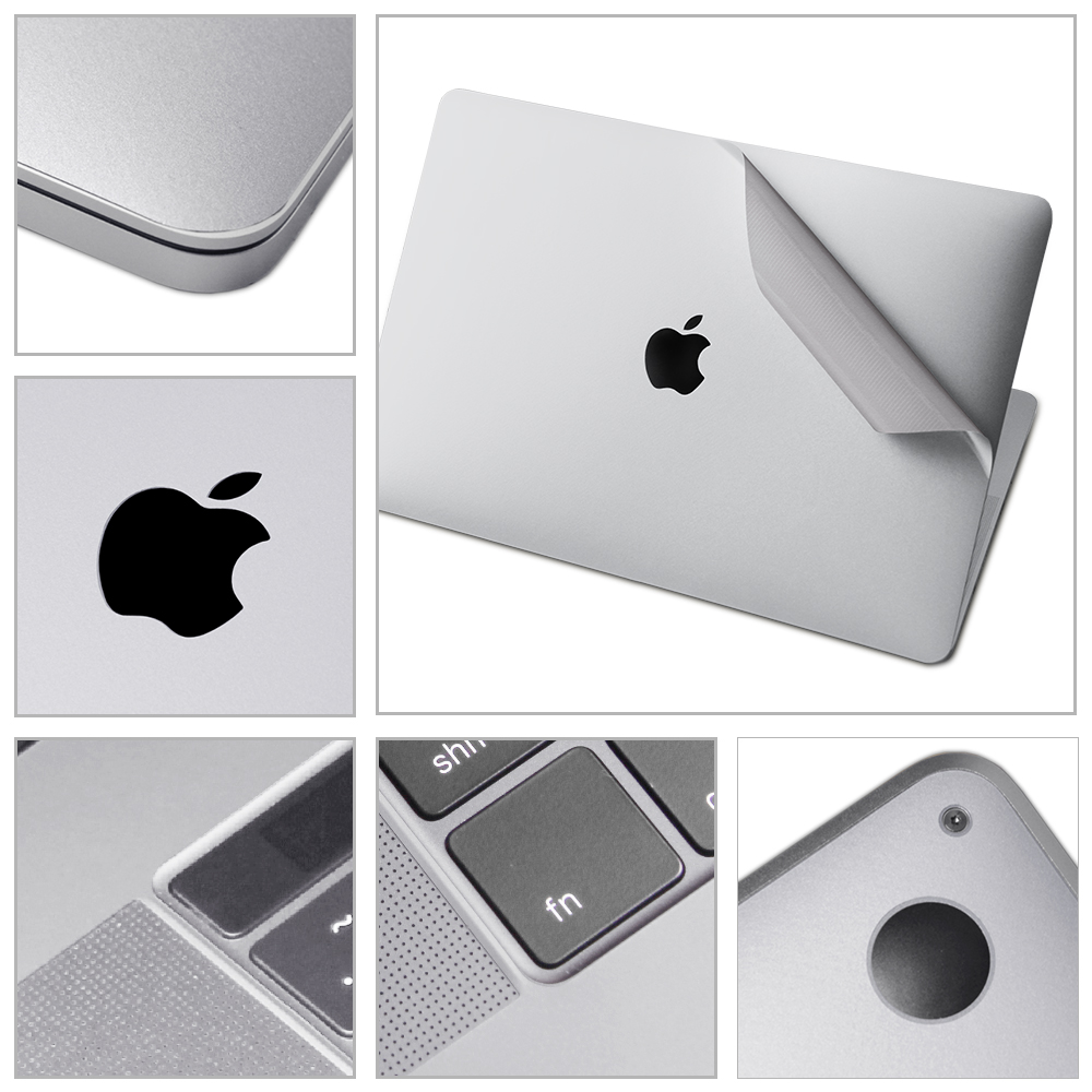 XSKN 4 In 1 Ultra Thin Laptop Skins Full Body Decal Sticker For 15