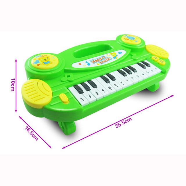 2016 venda quente Do Bebê Órgão Eletrônico Instrumento Musical Presente de Aniversário Miúdo Sabedoria Deveop setembro 13