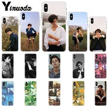 Yinuoda Riverdale Cole Sprouse Pattern TPU Soft Phone Cell Case for Apple iPhone 8 7 6 6S Plus X XS MAX 5 5S SE XR