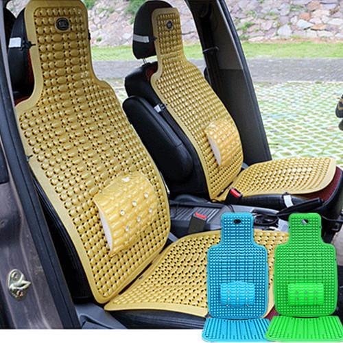 Alta calidad cojines del asiento de coche tapicería de verano fresco poromérico esteras del coche auto suministros cubierta de diseño de coches accesorios