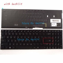 new for Asus N541L N541LA Q501L Q501LA US backlit keyboard NSK-USWBU