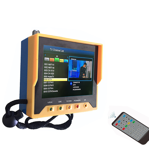 Originele 3.5 inch KPT 356H Handheld TFT LCD Multifunctionele DVB S/S2 Digitale satlink KPT 356H-in satelliet TV-ontvanger van Consumentenelektronica op  Groep 1
