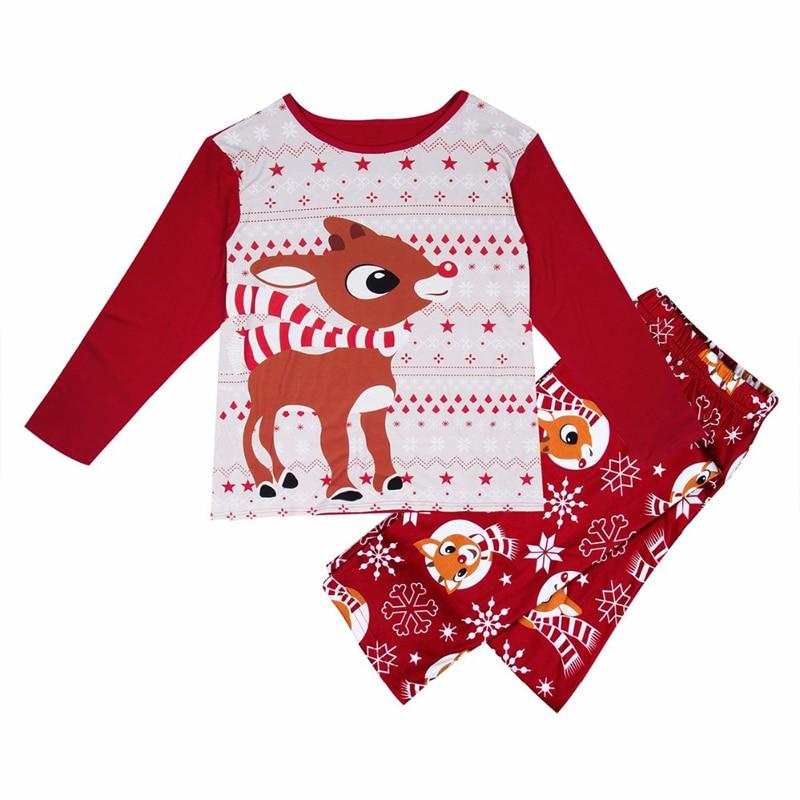 Puseky-Family-Christmas-Pajamas-Set-Elk-Print-Adult-Kids-Sleepwear-Nightwear-Pjs-Mother-Daughter-Outfits-Family (2)