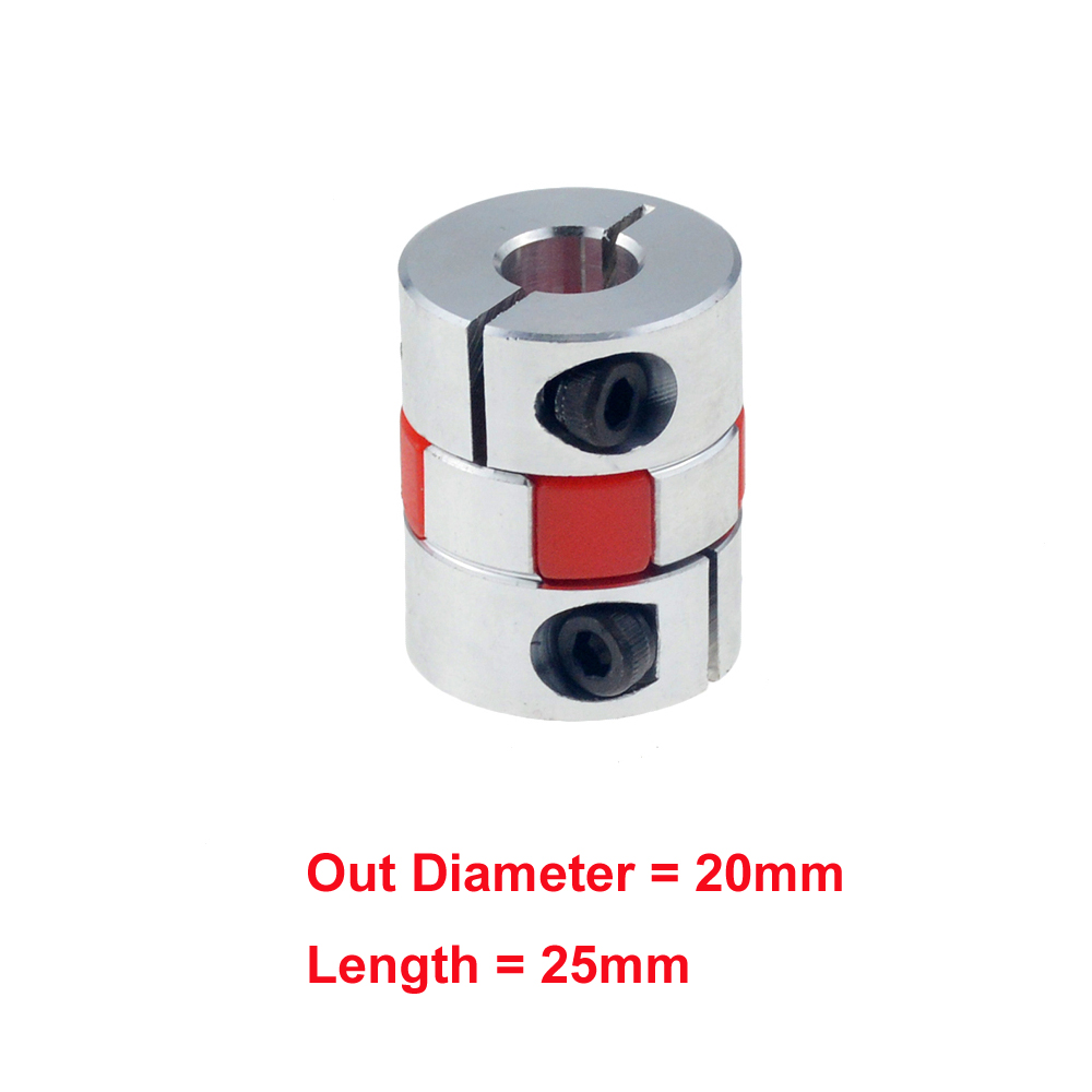 3 mm x 4 mm Aluminum Flexible Shaft Ballscrew Coupler Coupling CNC Linear Motion