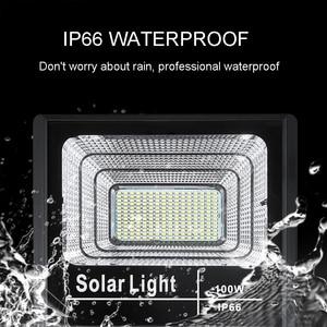 Image 4 - LED 태양 조명 야외 투광 조명등 태양 전원 25W 40W 60W 100W 200W BSOD 스포트라이트 정원 거리 차고에 대한 백색 조명