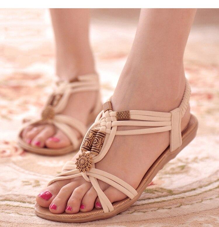 Cool Sandals Flip-Flops Women Shoes Gladiator Fashion Summer High-Quality