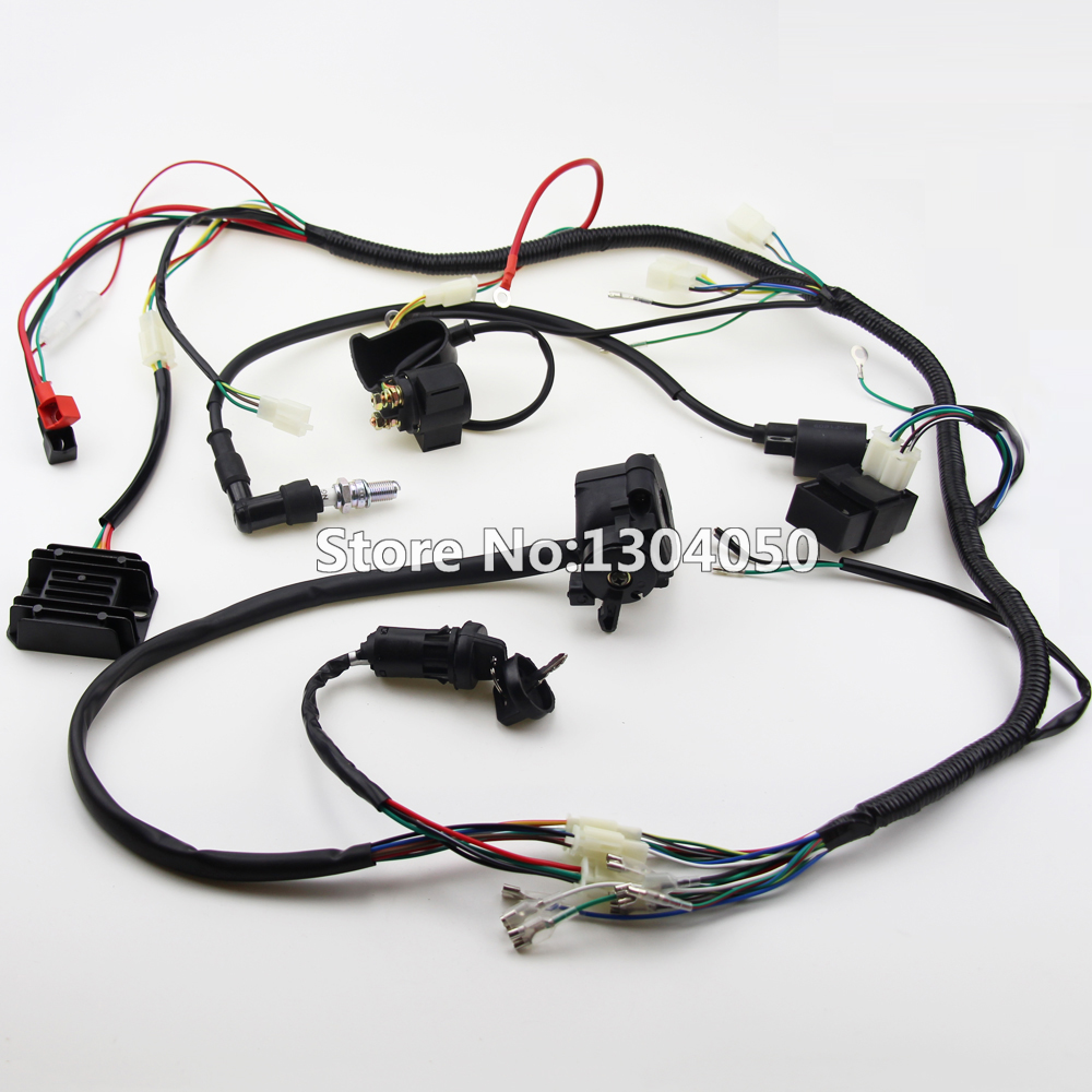 Loncin Wiring Harness Diagram Libraries Motor Pit Bike 110cc 125cc Lifan Zongshen Ssr 200cc 250cc Quad Full Electrics Cdi Coil D8ea200cc