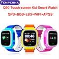 Q90 Сенсорный Экран GPS WIFI Smart Watch Ребенка SOS Расположение Finder устройство Трекер Малыш Сейф Анти Потерянный Монитор Smartwatch PK Q80 Q50
