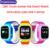 Q90 pantalla táctil gps wifi smart watch niño sos localizador dispositivo de Seguimiento de Niños Seguro Anti Perdido Monitor Smartwatch PK Q80 Q50