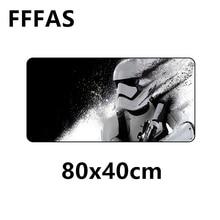 FFFAS 80x40 cm Tamanho Grande Mouse Pad Esteira de Tabela Natural da China  Velocidade de borracha Modelo Gaming Mousepad Jogo Ba. 7e3c0313dcf