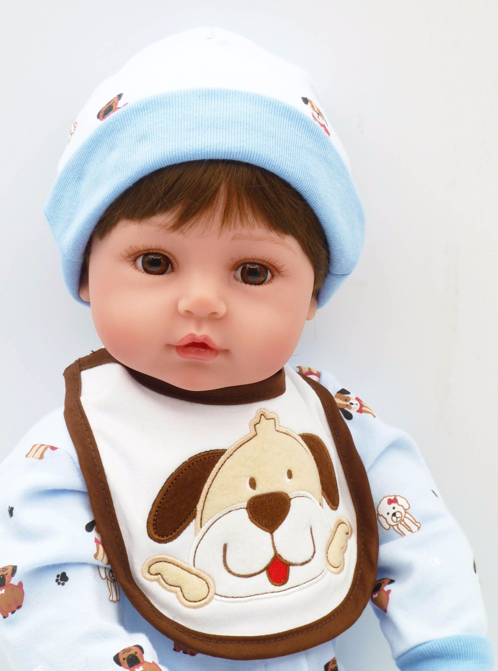 big size doll 24 New arrival Handmade Silicone Vinyl Lifelike Toddler Baby boy Girl Kid Doll Reborn big size Silicone Juguetes : 91lifestyle