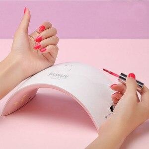 Image 2 - SUN9c Plus UV lampe SUNUV LED sèche ongles pour guérir tous les Gels manucure ongles outils pour Salon de manucure Solution de séchage parfaite du pouce
