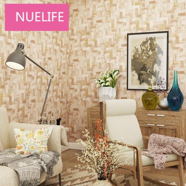 US $32.48 43% OFF|0,53x10 mt 3d Chinesischen Stil Nachahmung Bambus Muster  Tapete Wohnzimmer Schlafzimmer Büro Dekoration Tapete N12 in 0,53x10 mt 3d  ...