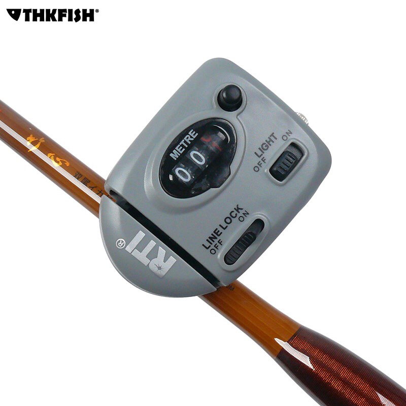 99 9m fishing line counter light night digital display for Fishing line counter